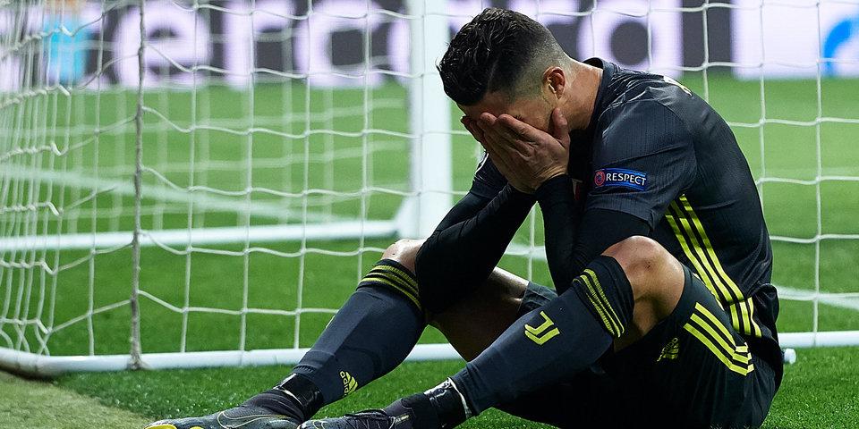 Роналду угодил в оборонительную сеть «Атлетико». Что не так с «Ювентусом» и его лидером? Видеоразбор