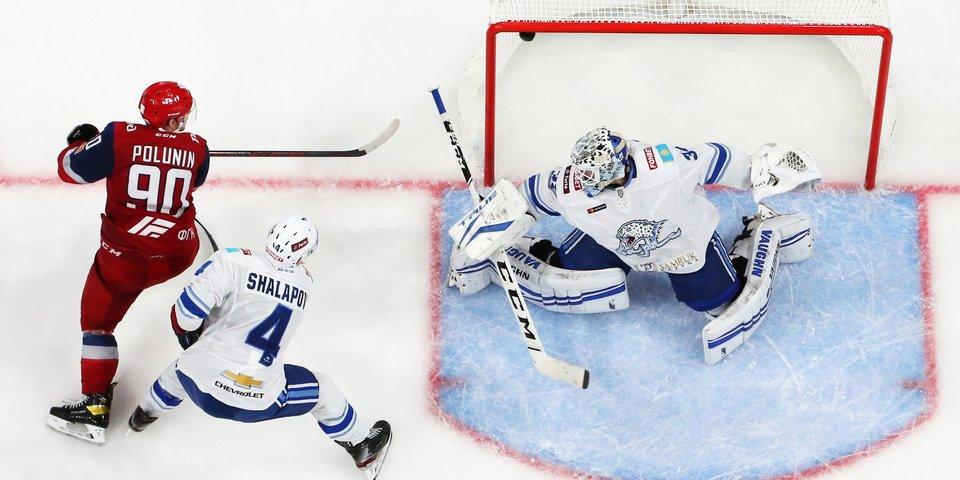 «Локомотив» одержал третью победу подряд в КХЛ