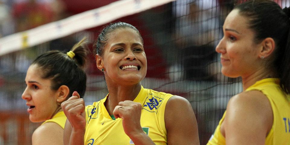 Бразильские волейболистки выиграли «Финал шести» Гран-при