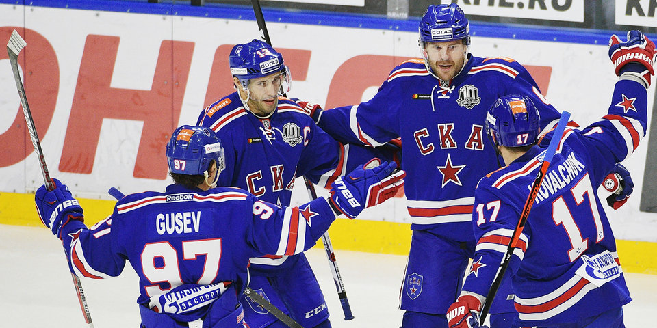 СКА побил рекорд «Авангарда» по числу побед подряд