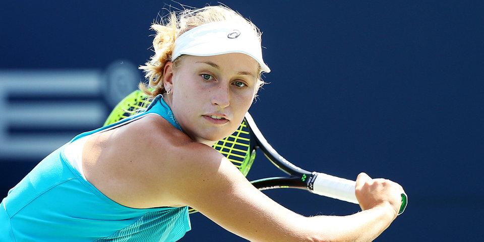 Гаврилова сыграет в финале турнира в США