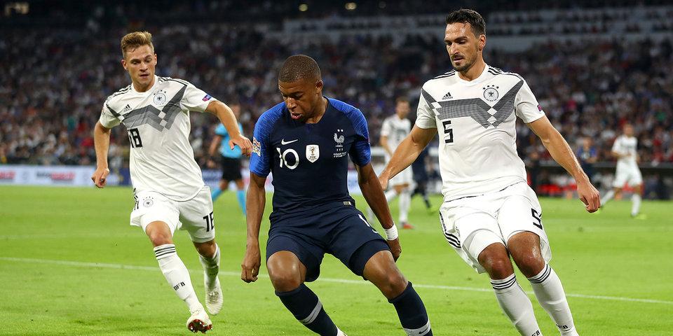 Немцы назвали состав на матчи против Нидерландов и Франции