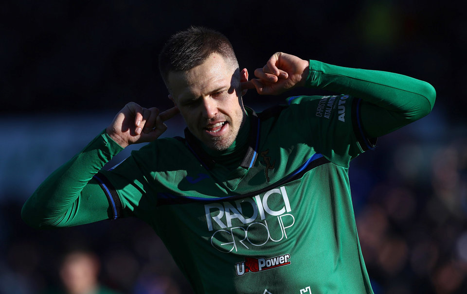«Аталанта» обыграла «Валенсию» и вышла в четвертьфинал Лиги чемпионов