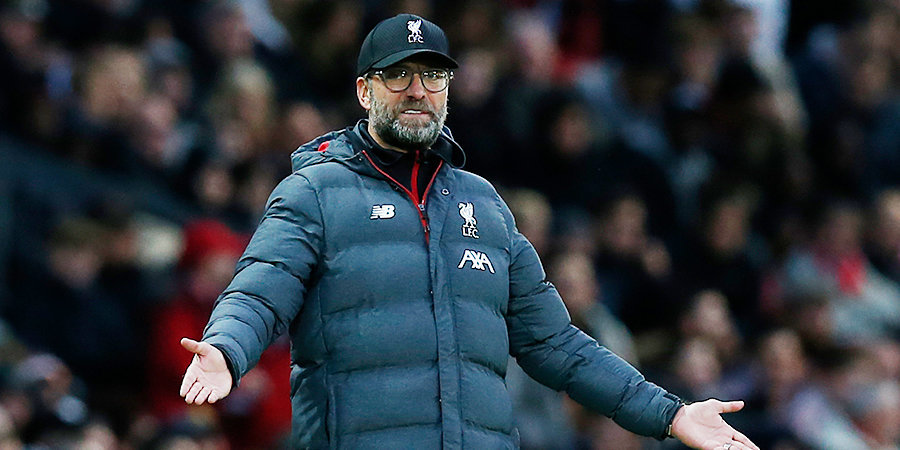 Клопп возмущен предложением по увеличению количества матчей в Лиге чемпионов