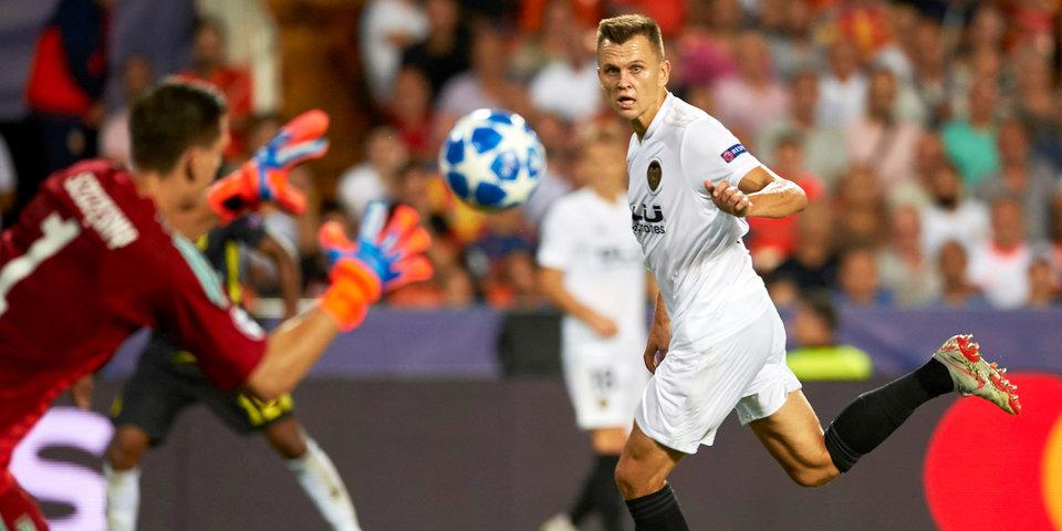 «Валенсия» и «Реал Сосьедад» счет не открыли, Черышев отыграл 75 минут