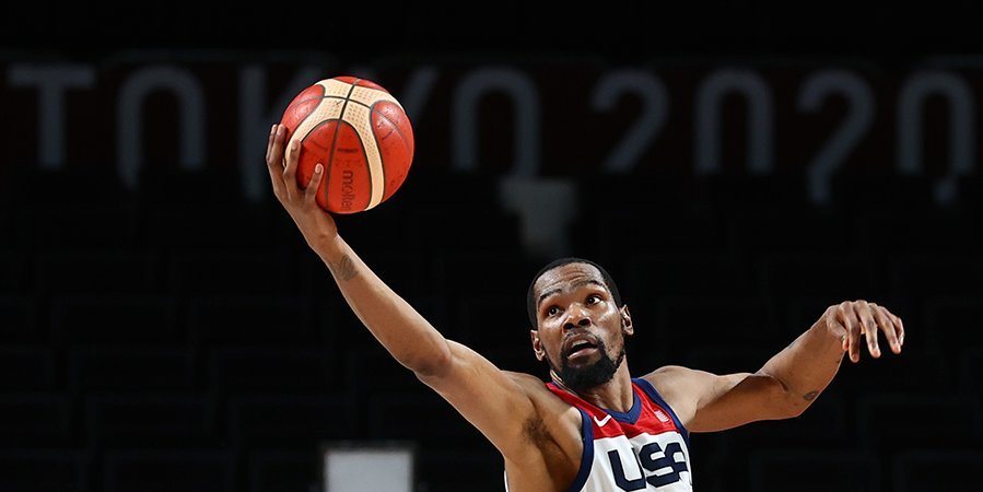 23 очка Дюранта помогли США обыграть Австралию и выйти в финал Олимпиады