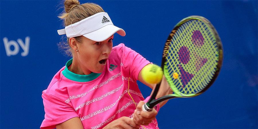 Калинская пробилась во второй круг турнира в Индиан-Уэллсе