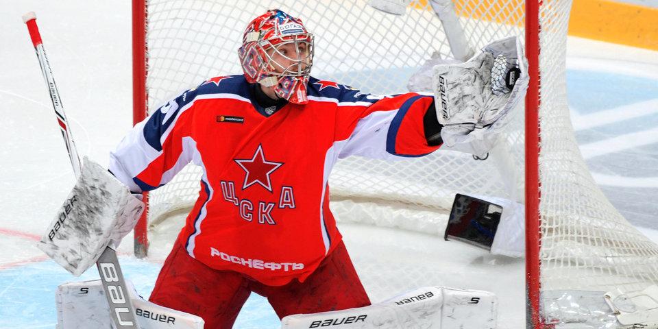 Илья Сорокин: «У меня еще действует контракт с ЦСКА, так что спросите об НХЛ через год»