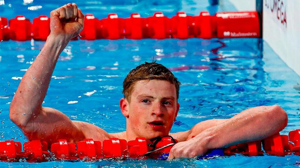 Британец Пити обновил мировой рекорд на дистанции 50 метров брассом в квалификации ЧМ