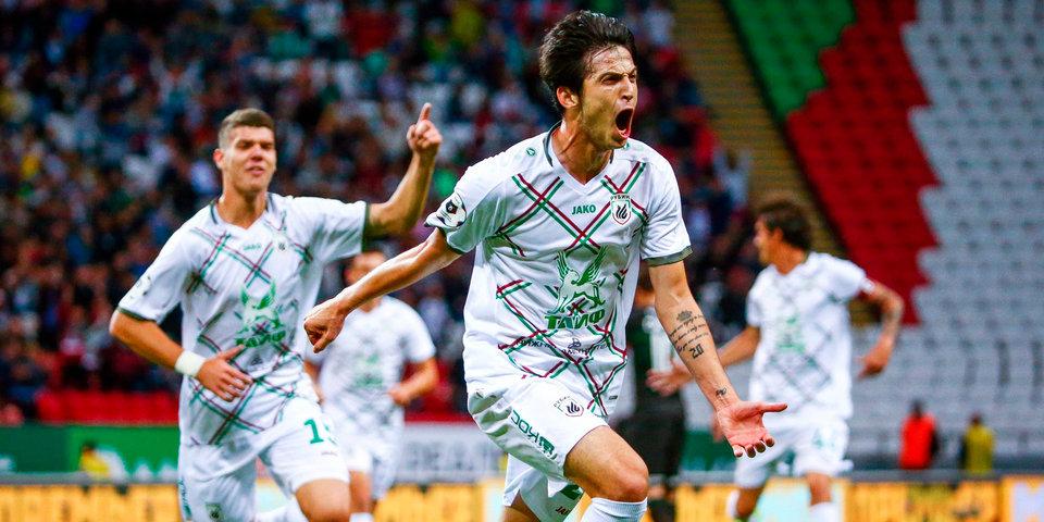 Азмун признан лучшим футболистом «Рубина» в сентябре
