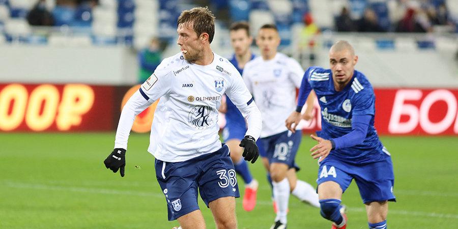 Дубль Симоняна принес «Волгарю» победу над «Балтикой» в ФНЛ. Игнашевич впервые проиграл в новом клубе