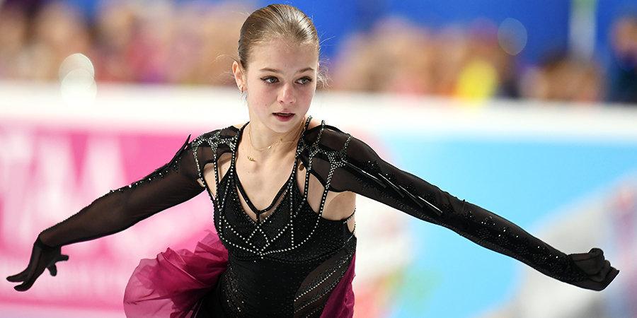 Александра Трусова: «Чемпионат России позади. Хочу сказать спасибо Плющенко за работу и терпение»