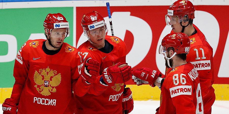 Малкин, Кучеров, Ковальчук и еще 8 хоккеистов сборной России сдали допинг-тесты перед ЧМ