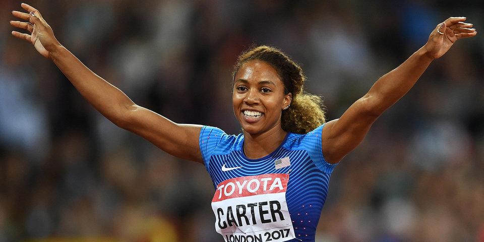 Американки взяли золото и серебро на 400-метровке с барьерами