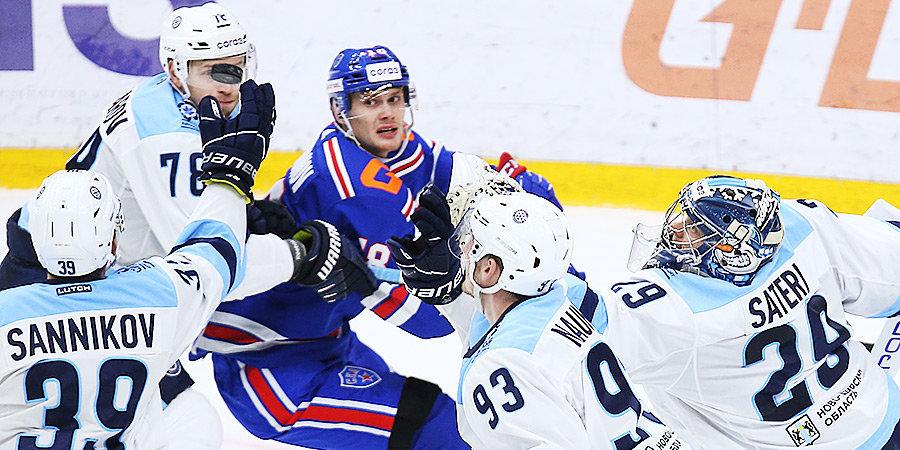 Виталий Меньшиков: «В «Сибири» понимают, что молодежь СКА уже почувствовала «взрослый» хоккей. Готовимся по-боевому»