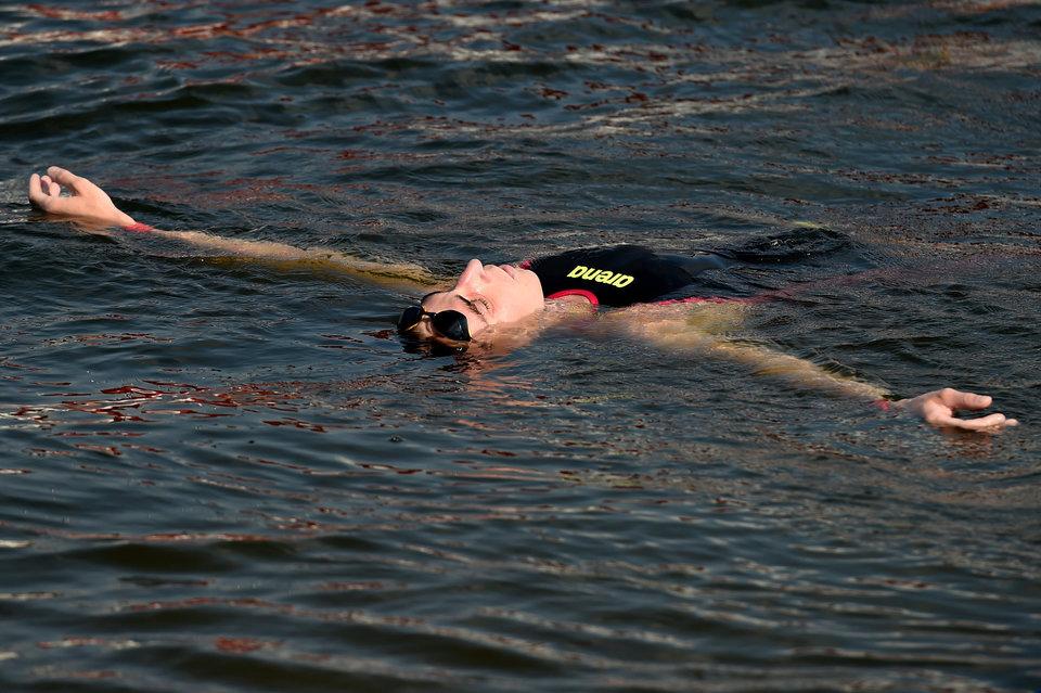 Абросимов занял 19-е место в заплыве на 10 км на ОИ в Токио