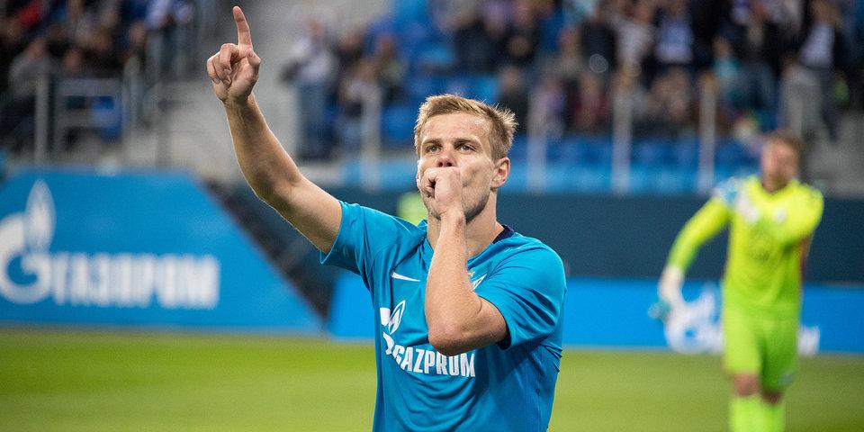 Кокорин номинирован на звание лучшего игрока недели в Лиге Европы