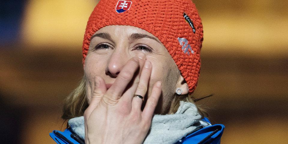 Анастасия Кузьмина: «Думала, что не смогу смотреть мужские гонки, когда Антошка закончит»