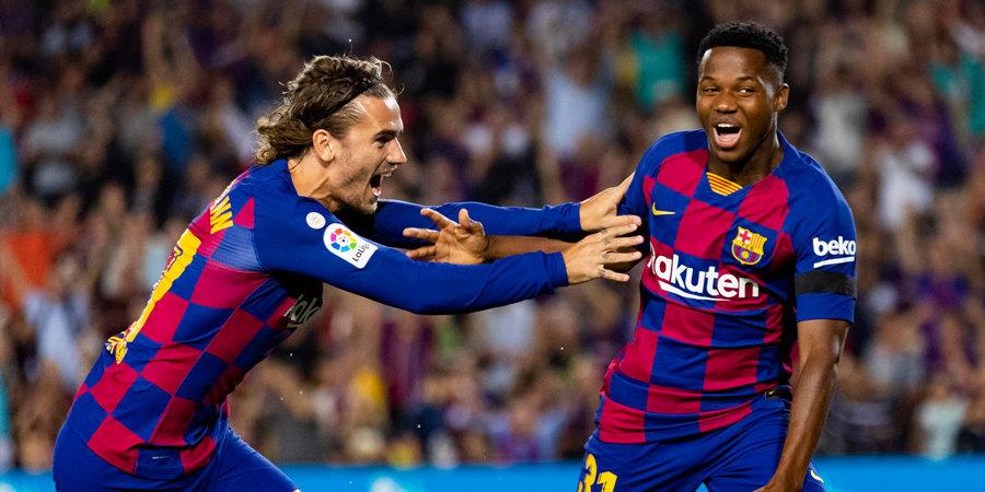 «Валенсия» пропустила пять мячей от «Барселоны», Черышев отдал голевую передачу