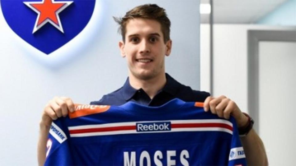 Мозес после СКА отправился в клуб АХЛ