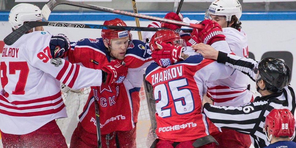 ЦСКА играет с «Йокеритом», но держит в голове встречу со СКА. Увидим на «Матч ТВ»