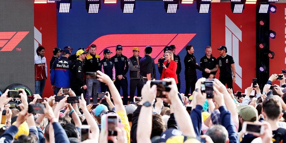 Гран-при Австралии: 5 прямых трансляций на «Матч ТВ»