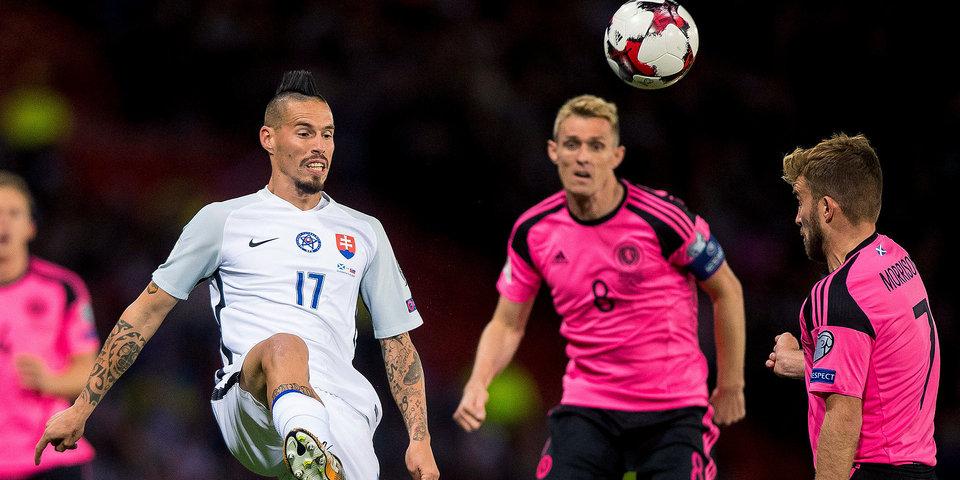 Словения и Шотландия играют вничью и пропускают ЧМ-2018: голы и лучшие моменты