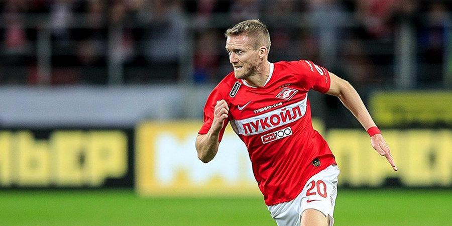 Шюррле поздравил Ларссона и Тиля с первыми голами за Спартак