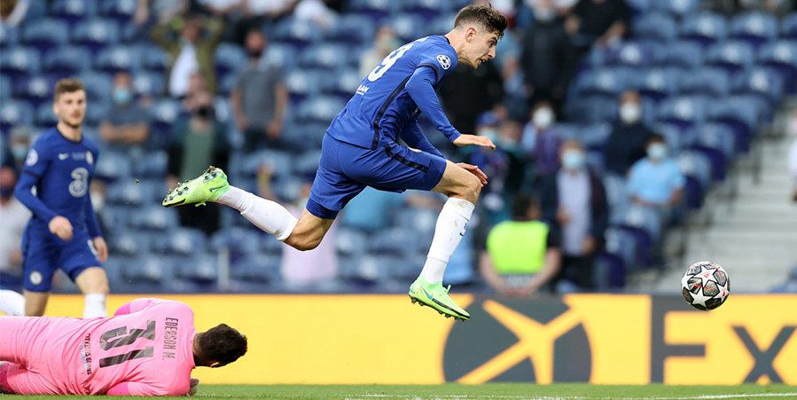 Гол Хавертца принес «Челси» победу над «Ман Сити» в финале Лиги чемпионов