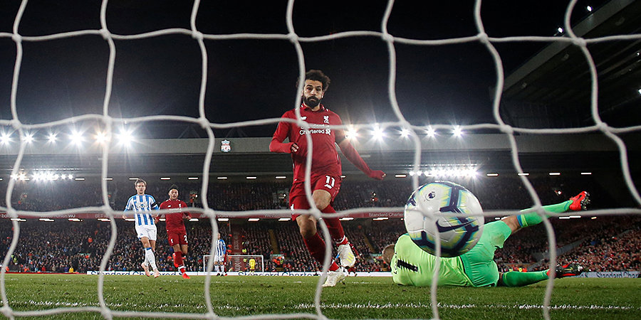 «Ливерпуль» забил пять мячей «Хаддерсфилду», набрал 91 очко и обошел «Ман Сити»