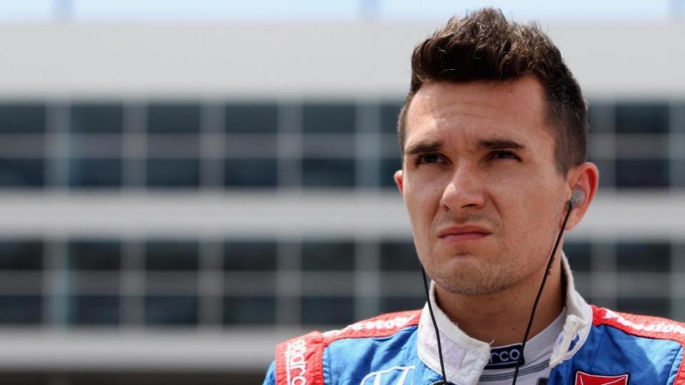 Алешин – шестой в первой гонке серии «Индикар» в Детройте