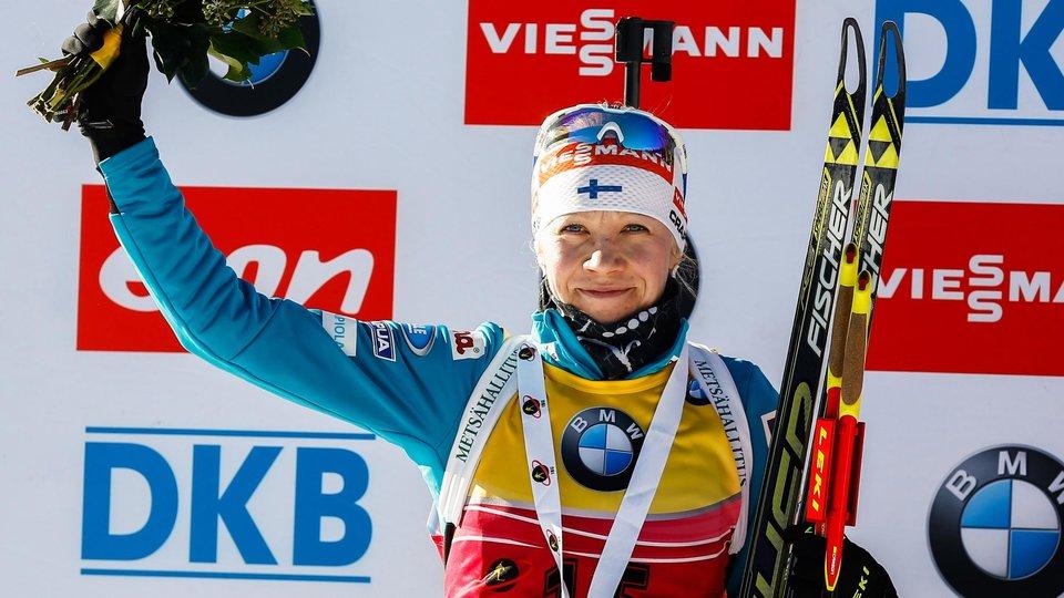 Кайса Мякяряйнен — о завершении карьеры: «Счастлива, что в свои 37 лет могу конкурировать. Но этого мало, нужна еще и хорошая стрельба»