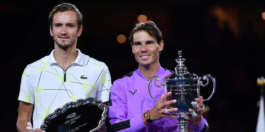 Надаль обыграл Медведева и в четвертый раз стал победителем US Open