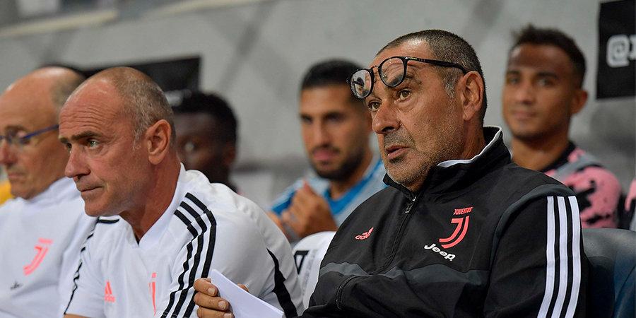 Сарри сможет руководить «Ювентусом» в матче против «Фиорентины»