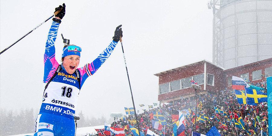 Херрман показала лучший ход в масс-старте на ЧМ в Антхольце, Юрлова-Перхт — 14-я