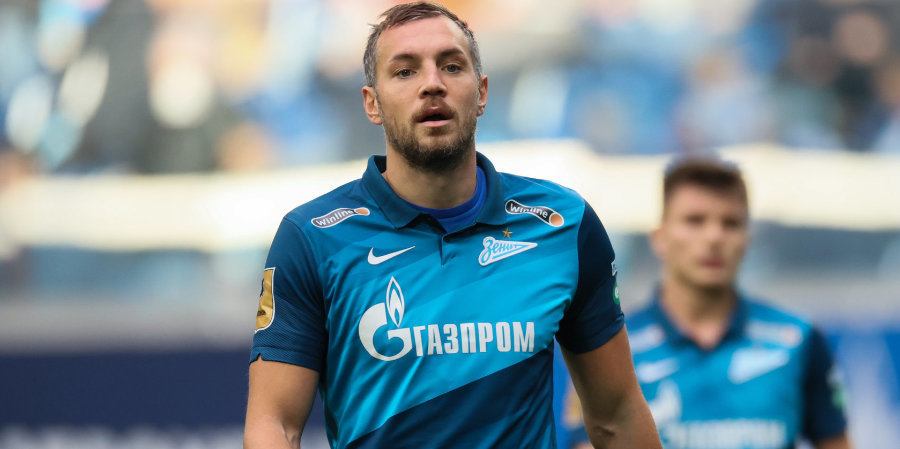 Дзюба не реализовал пенальти в матче с «Краснодаром» (видео)