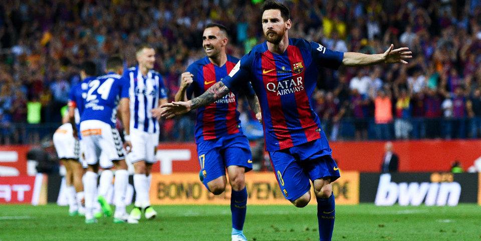 Месси разрывает «Алавес» в финале Кубка Испании: голы и лучшие моменты