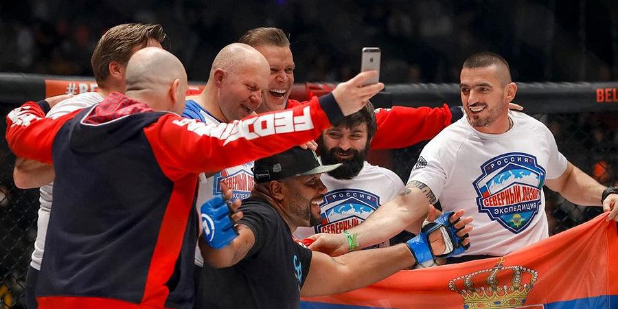 Емельяненко нокаутировал Джексона в первом раунде. Видео и подробности на «Матч ТВ»