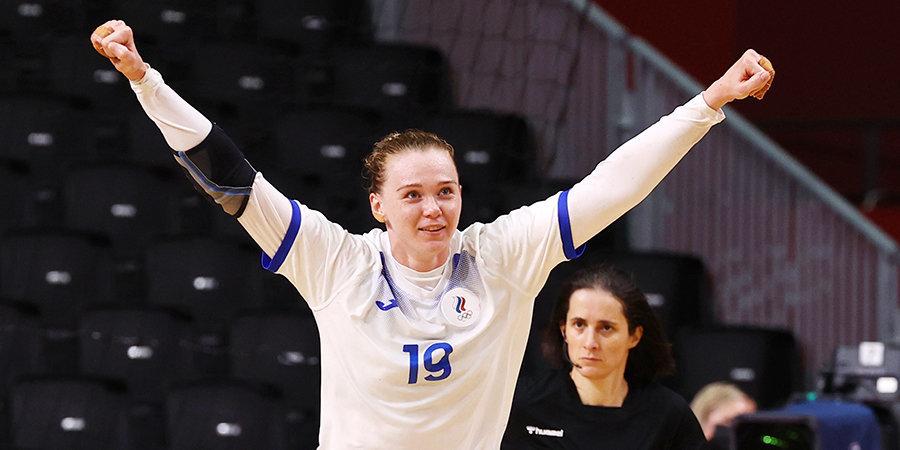 Ксения Макеева — о матче с Норвегией: «Смогли выстоять — это характер, подготовка, наши эмоции и воля к победе»