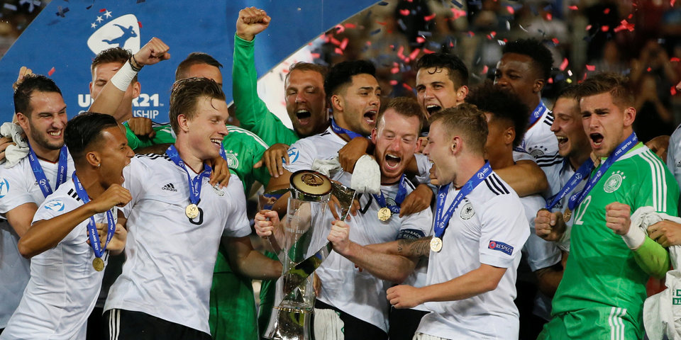 Сборная Германии – победитель Евро-2017 среди молодежи
