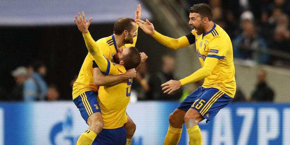 Игуаин и Дибала вывели «Ювентус» в четвертьфинал Лиги чемпионов