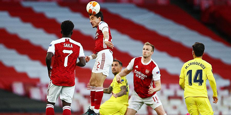 «Арсенал» не смог обыграть «Вильярреал» в Лондоне. Испанский клуб впервые сыграет в финале ЛЕ