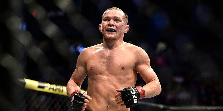 Рождение сына, спарринги с девушкой, советы Тактарова – Петр Ян рассказал, как готовится забирать пояс UFC