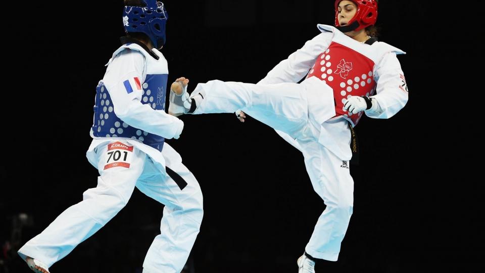 Участникам соревнований по тхэквондо добавили шкалы здоровья, как в файтингах