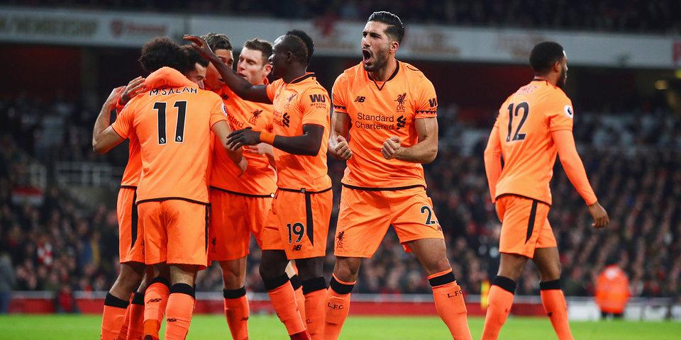 Четыре гола за шесть минут. «Арсенал» и «Ливерпуль» сошли с ума: лучшие моменты