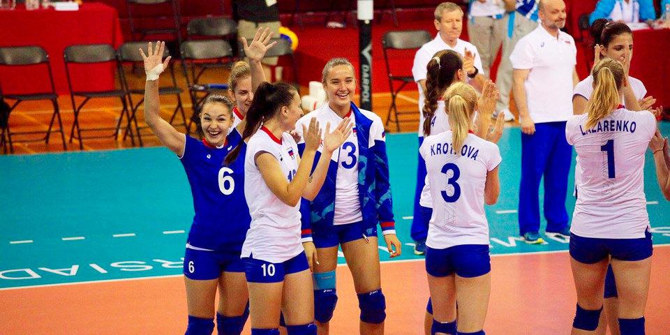 Россия вышла в полуфинал Универсиады