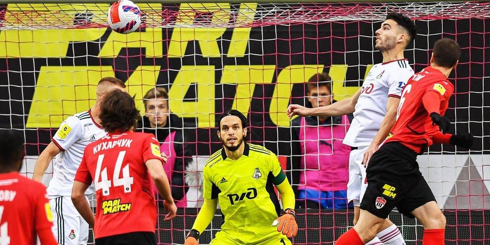 «Локомотив» удержал ничью после удаления Гилерме в матче с «Химками»