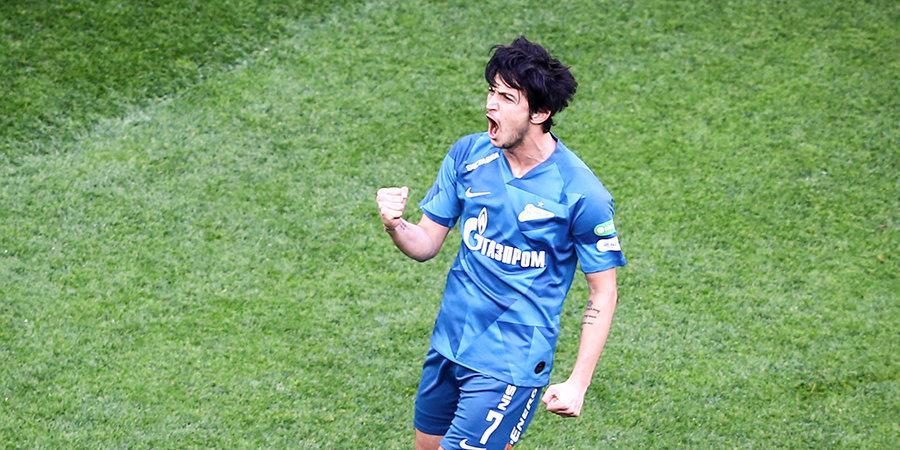 Азмун стал лучшим игроком матча с «Оренбургом»