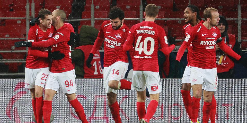 СМИ: Зимой «Спартак» покинут шесть футболистов