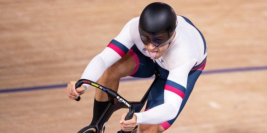 Велогонщик Дмитриев вышел в полуфинал олимпийских соревнований в спринте